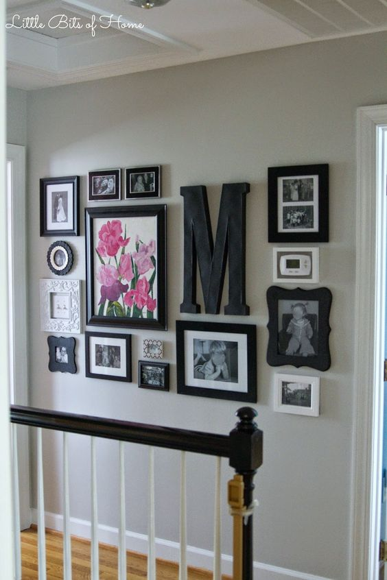 Example of photo wall