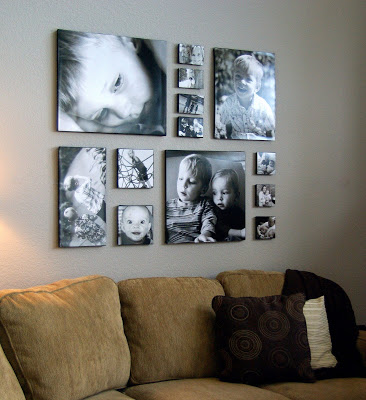 Tales from the crib photo wall