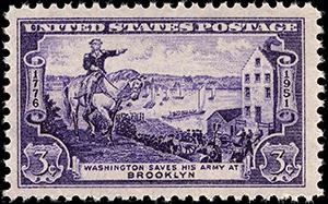 Washington saves Brooklyn USPS Stamp