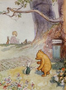 Winnie the Pooh illustrated by E. H. Shepard