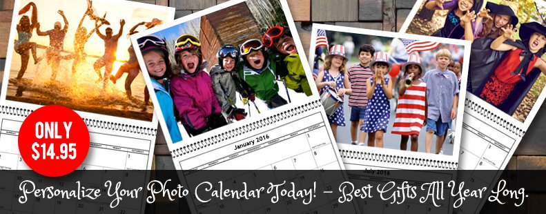Personalize Your Calendar for yourself or give as a gift!