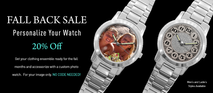 20 Percent Off Watches Until October 24th - NOW ONLY $19.95