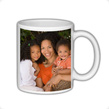 Here's your chance to use your holiday or vacation photos on a photo mug that you can use everyday. This ceramic coffee mug is comfortable and long lasting.